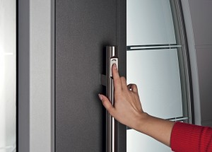 Porte blindate con impronte digitali